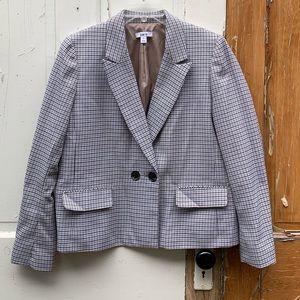 Bar III houndstooth blazer Size 14